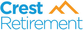 Crest Retirement logo